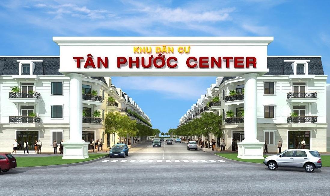 TÂN PHƯỚC CENTER – Khu Dân Cư Kiểu Mẫu Đầu Tiên Tại Đồng Phú