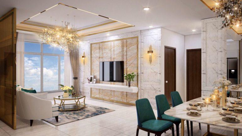 phòng khách St Moritz Phạm Văn Đồng