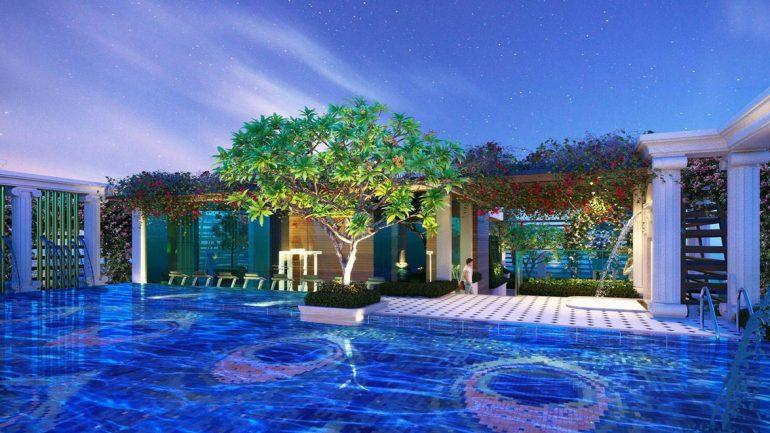 Tiện ích rooftop dự án căn hộ St Moritz Phạm Văn Đồng