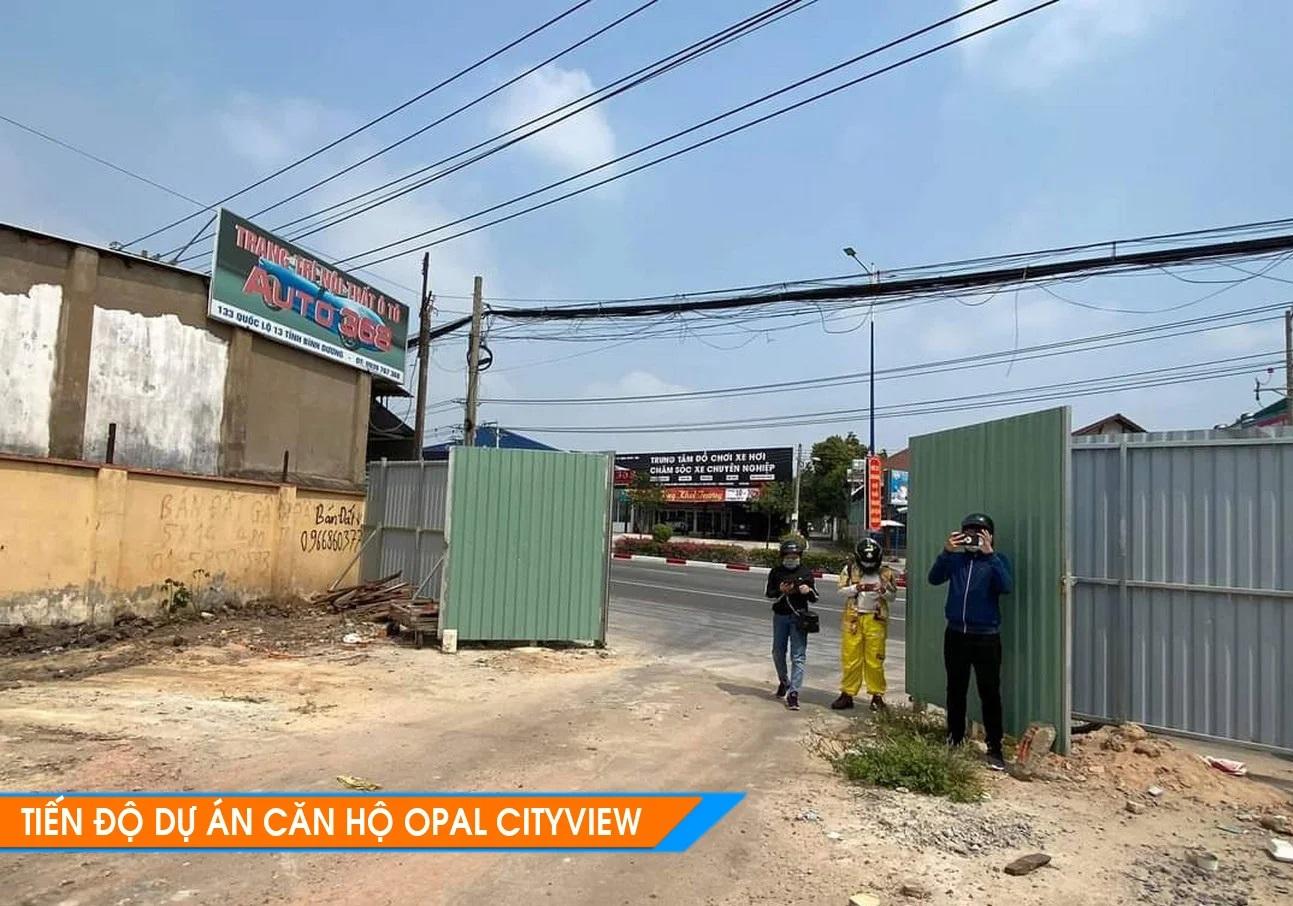 Tiến độ Opal Cityview