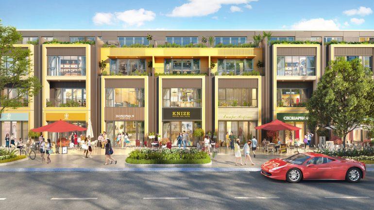 Shophouse dự án Gem Sky World Đất Xanh