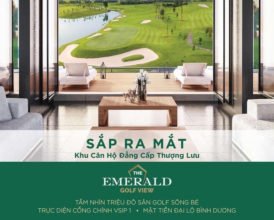 Căn hộ The Emerlad Golf View Thuận An