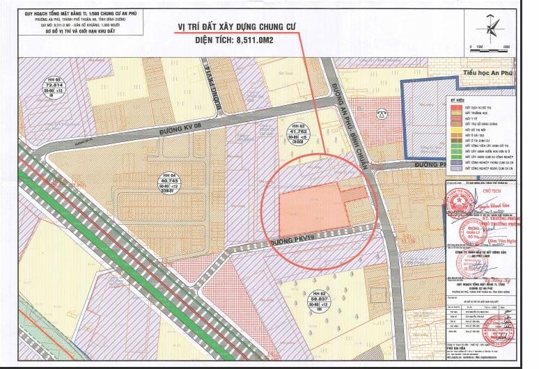 Quy hoạch đường PKV19 An Phú Thuận An