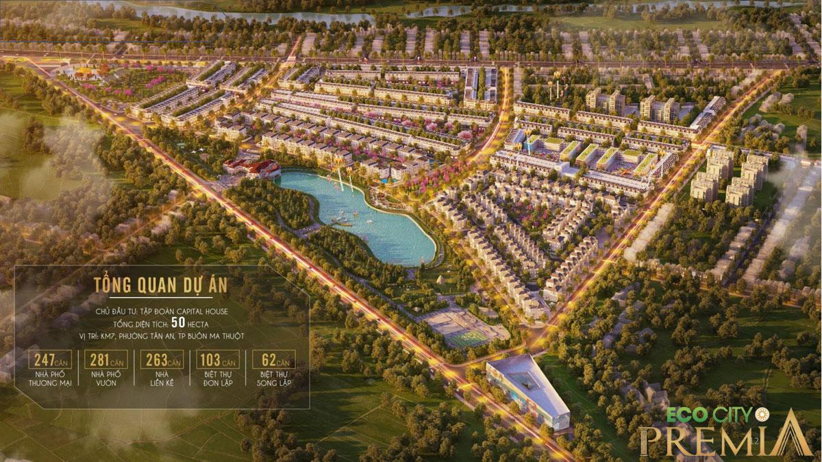 Dự án Khu đô thị Eco City Premia Buôn Ma Thuột