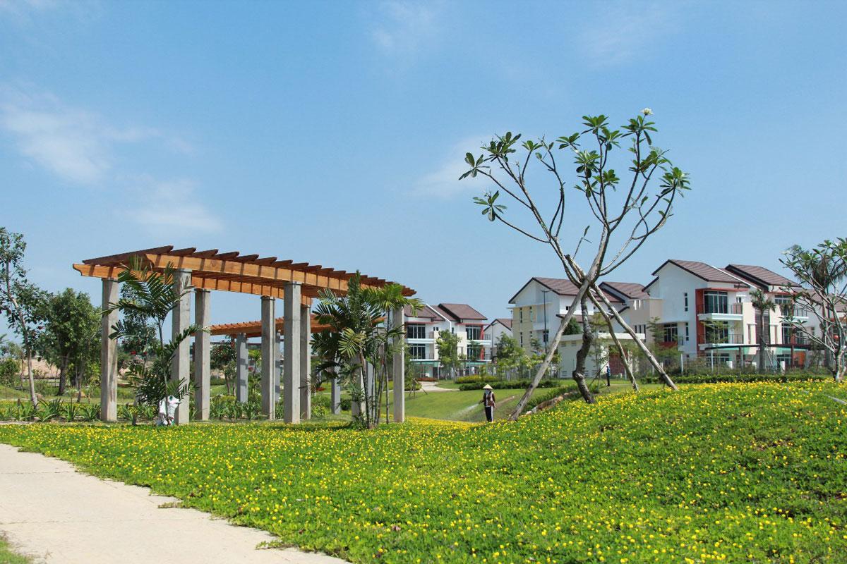 Tiện ích Công viên nội khu Dự án Ecolakes Mỹ Phước Bình Dương