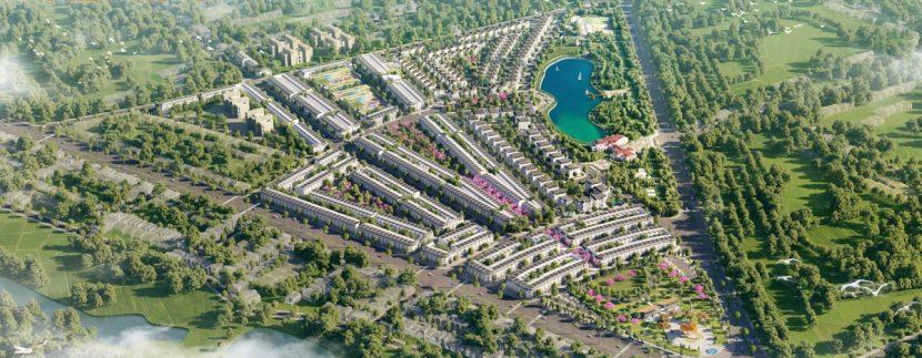 Phối cảnh dự án khu đô thị Eco City Premia Buôn Ma Thuột