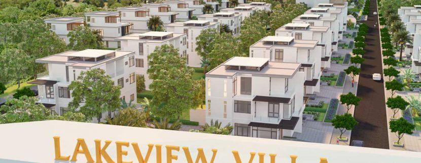 Phối cảnh dự án biệt thự Lakeview Villa Phú Mỹ