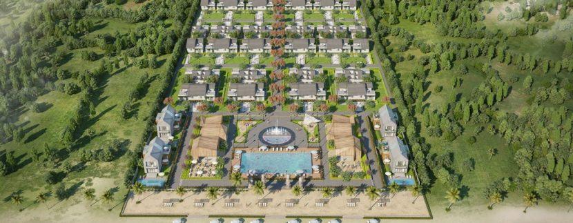 Phối cảnh dự an biệt thự Pérolas Villas Resort Mũi Kê Gà Bình Thuận