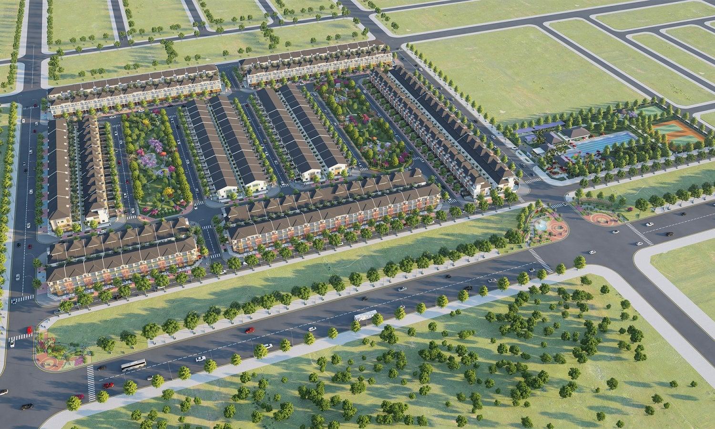 Phối cảnh dự án nhà phố Sun Casa Central Tân Uyên Thủ Dầu Một Bình Dương