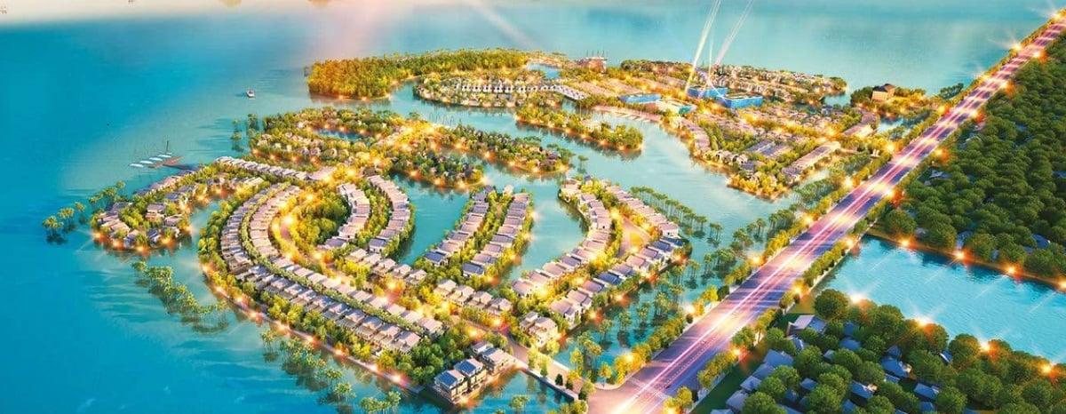 Phối cảnh dự án biệt thự Thị Nại Eco Bay Quy Nhơn